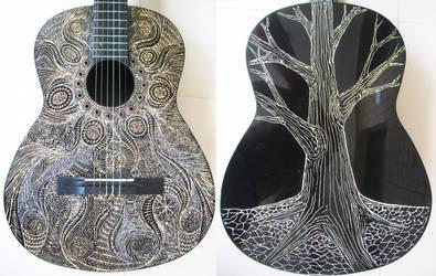 Arte na Viola - My Acoustic Guitar by gdsfgs