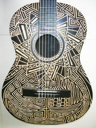 Arte na Viola - Acoustic Guitar From My Friend by gdsfgs