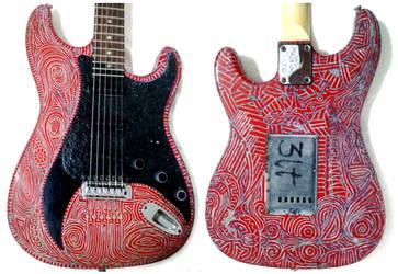 Arte na Viola - My Scarlet Guitar (inna The Red) by gdsfgs