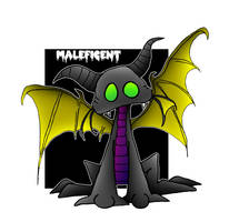Lil' Maleficent by 5chmee