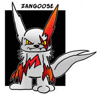 Zangoose by 5chmee