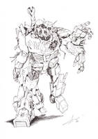Price of Life Megatron and Ratchet by MisterJazzz
