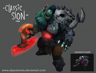 Traditional Sion (by Abyssmosis modded by me) by 3mptylord