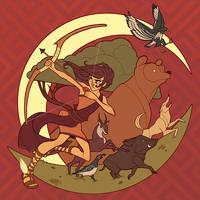 Artemis by courtneyuy