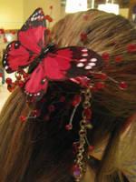 Hair piece detail by WinterInJuly