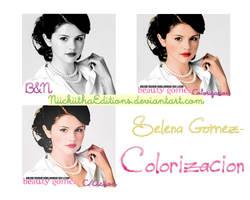 + Selena Gomez Colorizacion. by NiickiithaEditions
