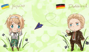 [APH] Don't give up, Ukraine! by xPiko-Chanx
