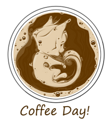Coffee Day by doodlingdruid