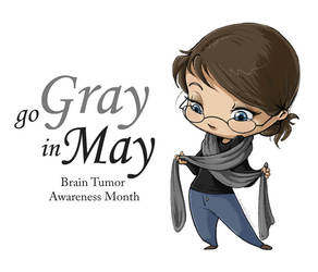 Go Gray in May by doodlingdruid