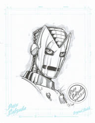 Classic Iron-man by JUANPUIS