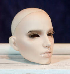 Simply Divine Harlequin Head, as Andrej Pejic by hallowedresin