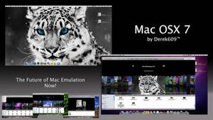 Mac OSX 7 Snow Leopard by Derek609