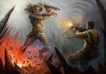 Repel Predator's Assault by daRoz