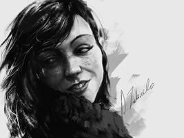 Lady by daRoz