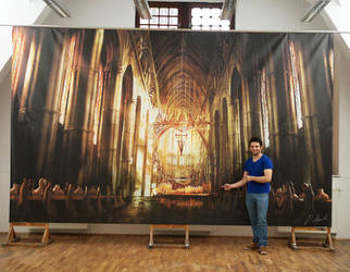 Cathedral Interior by daRoz