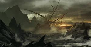 Storm speedpainting by daRoz