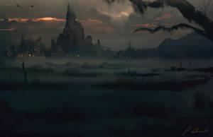 Marshlands by daRoz