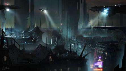 Blade Runner Paris by daRoz