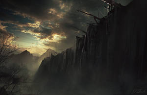 Game of Thrones: The Wall by daRoz