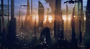 Coruscant #2 by daRoz