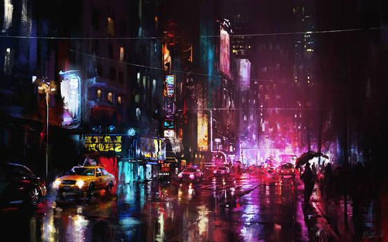 Red lights by daRoz