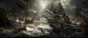 Seafight 1 by daRoz