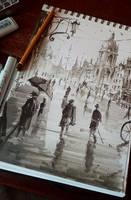 Inked Victorian... by daRoz