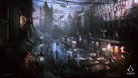 Assassin's Creed: Syndicate Street View by daRoz