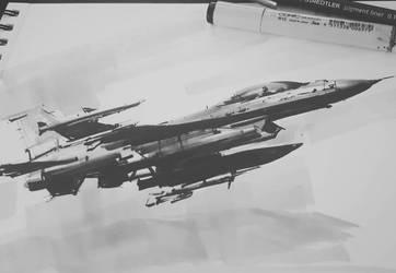 Falcon F16 by daRoz