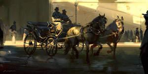 Street scene by daRoz