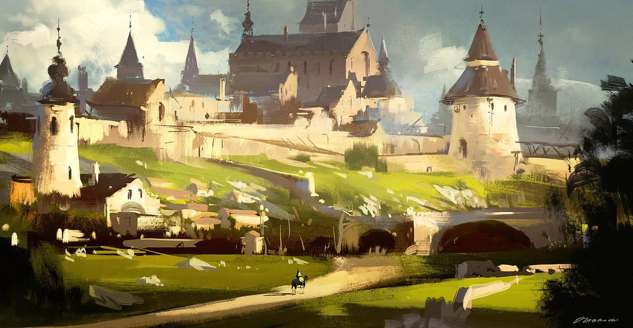 Castle by daRoz