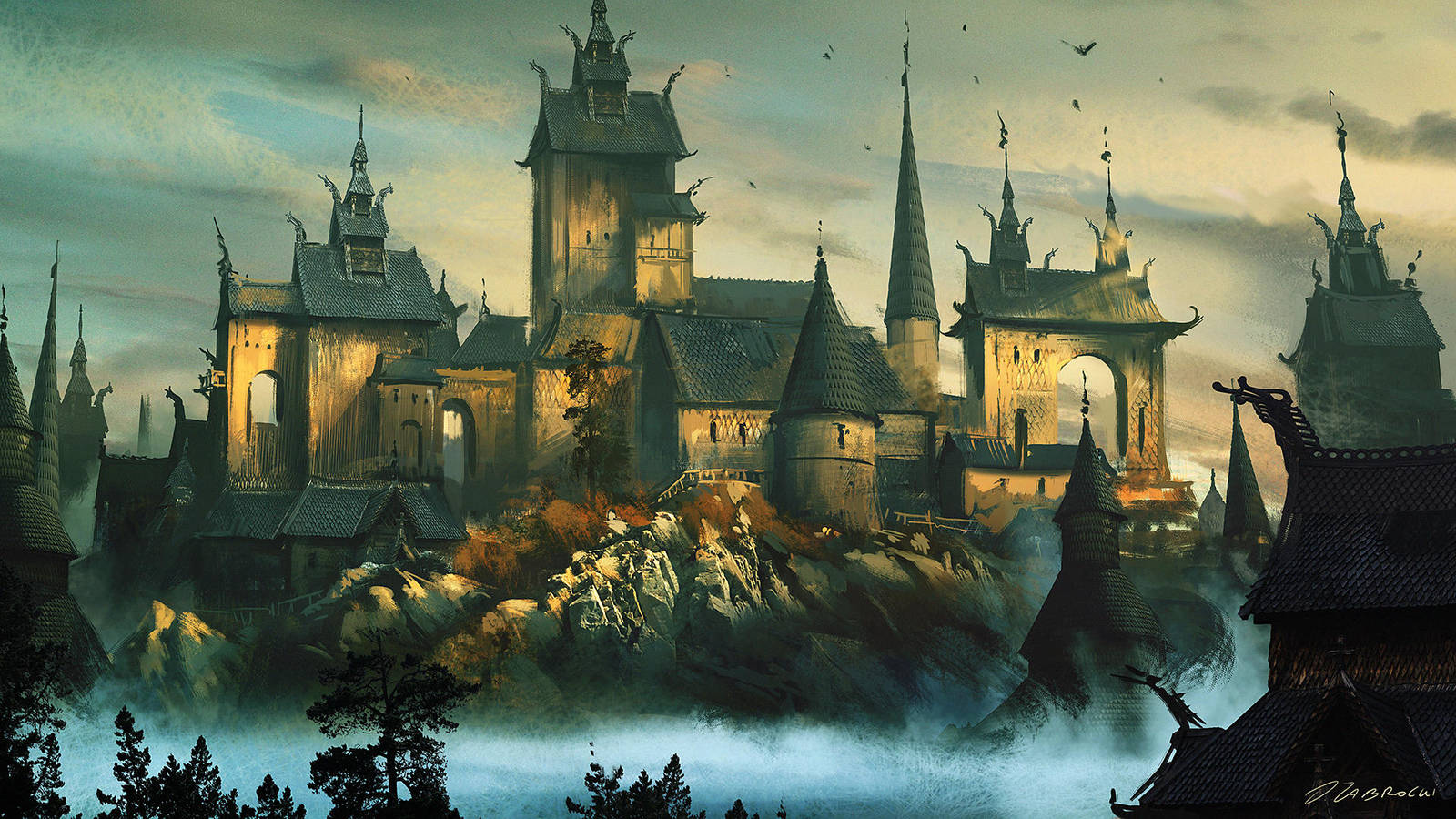 Vikings Fortress by daRoz