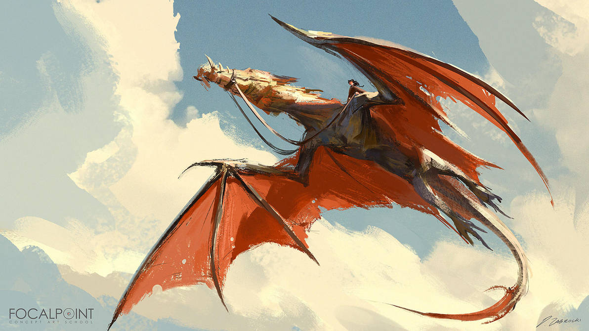 Dragon Riderrrr by daRoz