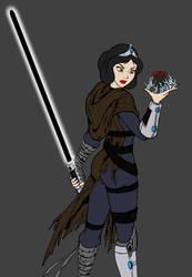 Darth Snow White WIP by JosephB222