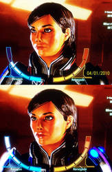 ME Shepard - Then and Now by JosephB222