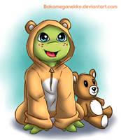 I'm a teddy too by BakaMeganekko