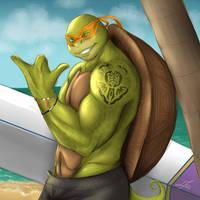 Surf's Up by BakaMeganekko