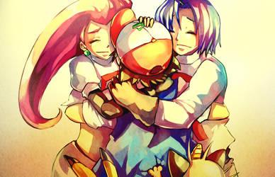 Pokemon : Lovely enemy by Sa-Dui