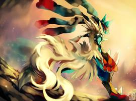 Pokemon : MegaLucario by Sa-Dui