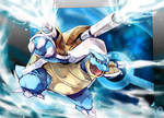 Pokemon : Mega Blastoise by Sa-Dui