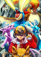 Twitch play Pokemon : Hall of Famer by Sa-Dui