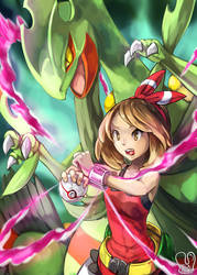 Pokemon : Mega Sceptile by Sa-Dui