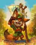 Zootopia : Young Nick Wilde by Sa-Dui