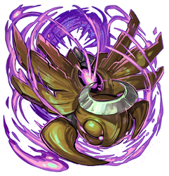 Shedinja using Phantom Force by Sa-Dui
