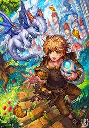 Commission : Dragon Nursery 1 by Sa-Dui
