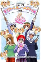 Happy Eid-ul-Adha - 1431 by Nayzak