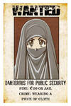 Wanted Niqabi Woman by Nayzak