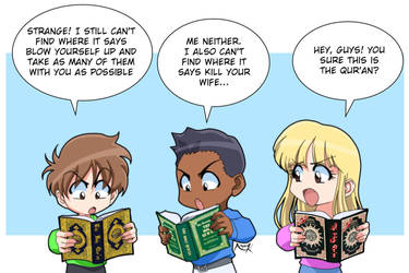 Why not read the Qur'an? by Nayzak