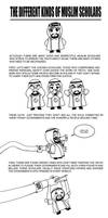 Different kinds of scholars by Nayzak