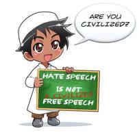 Free Speech -1 by Nayzak